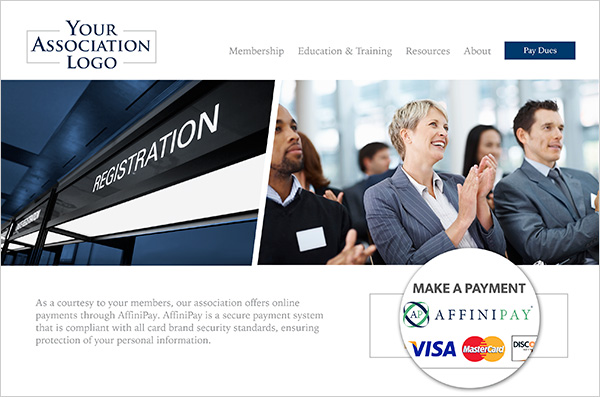 Pay your invoice with Visa, MasterCard, Discover, or American Express