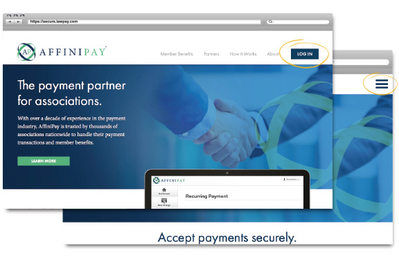 The Payment Partner for Associations | Support | AffiniPay
